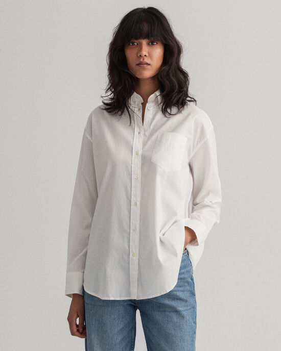 Camisa Oxford relaxed fit