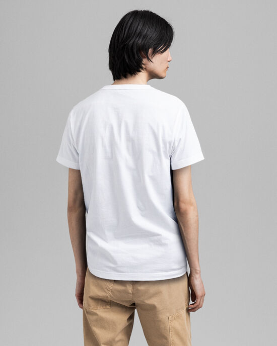 Archive Shield Embroidery T-Shirt